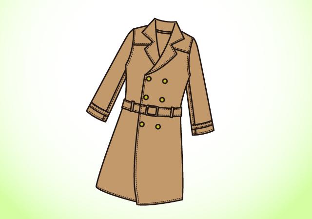寒い冬はコートを着た状態で全身チェック
